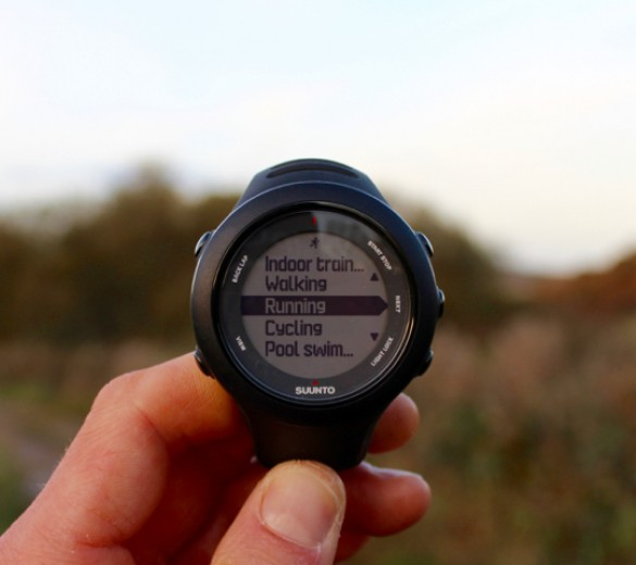 suunto ambit 3 sports watch with heart rate monitor