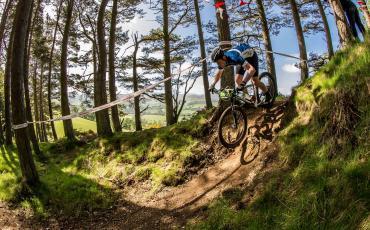 image of Sean Clarke mountain biking