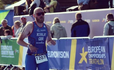 Racing in the Age Group Triathlon European Championships 2018