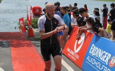 Wiggler places 2nd in Tri Asia Olympic Triathlon - #goodstuff