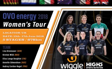 Get to know the Wiggle HIGH 5 OVO Women's Tour team