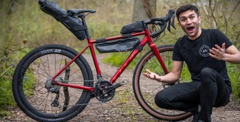 Gravel bike upgrade adventure bike