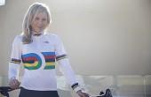 Image of Nettie Edmondson in World Champs jersey